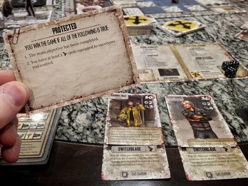 Dead of winter objective