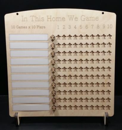 10 x 10 plaque