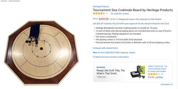 crokinole amazon